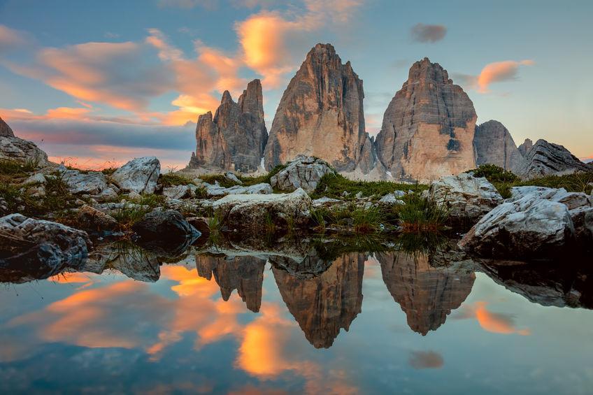 Tre Cime di Lavaredo, simbolo delle Dolomiti - Cure-Naturali.it